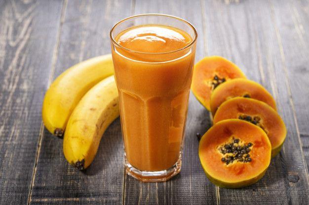 Batido de papaya antural