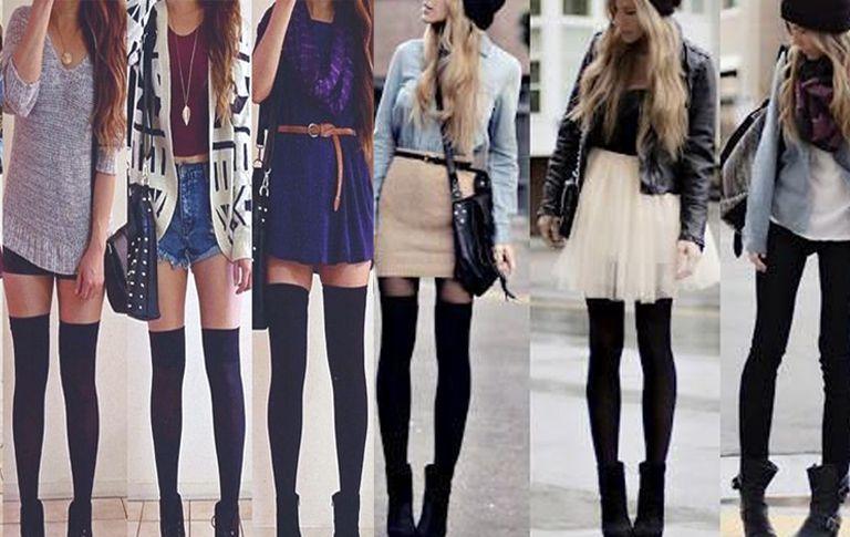 Medias de moda