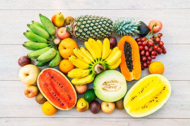 contenido saludables de la fruta