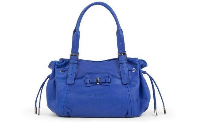 bolso lancaster azul