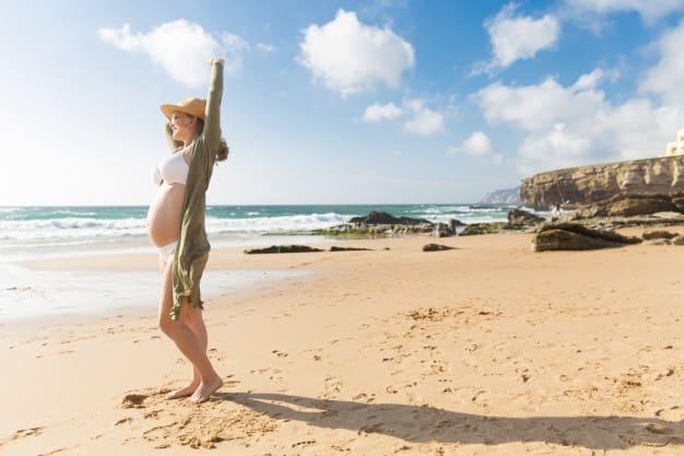 lugares para viajar estando embaraza